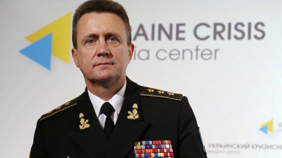 Адмірал Кабаненко: криза на Азові - гібридна загроза вторгнення з моря