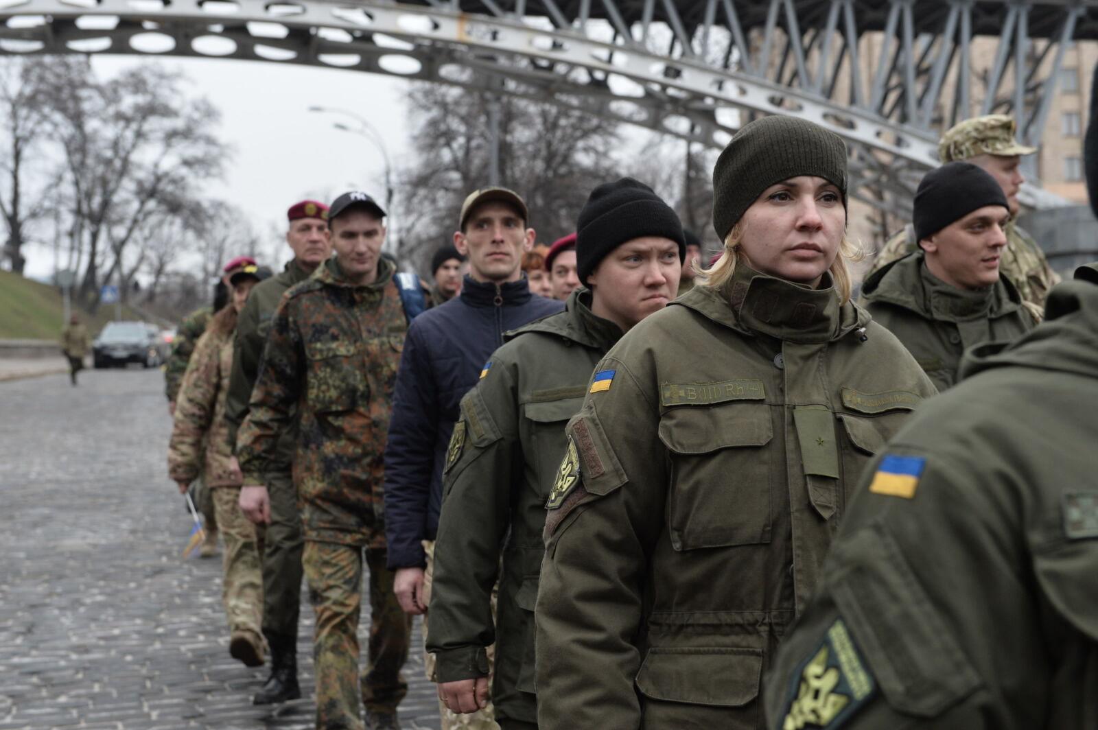 Батальон Кульчицкого на Майдане в годовщину создания