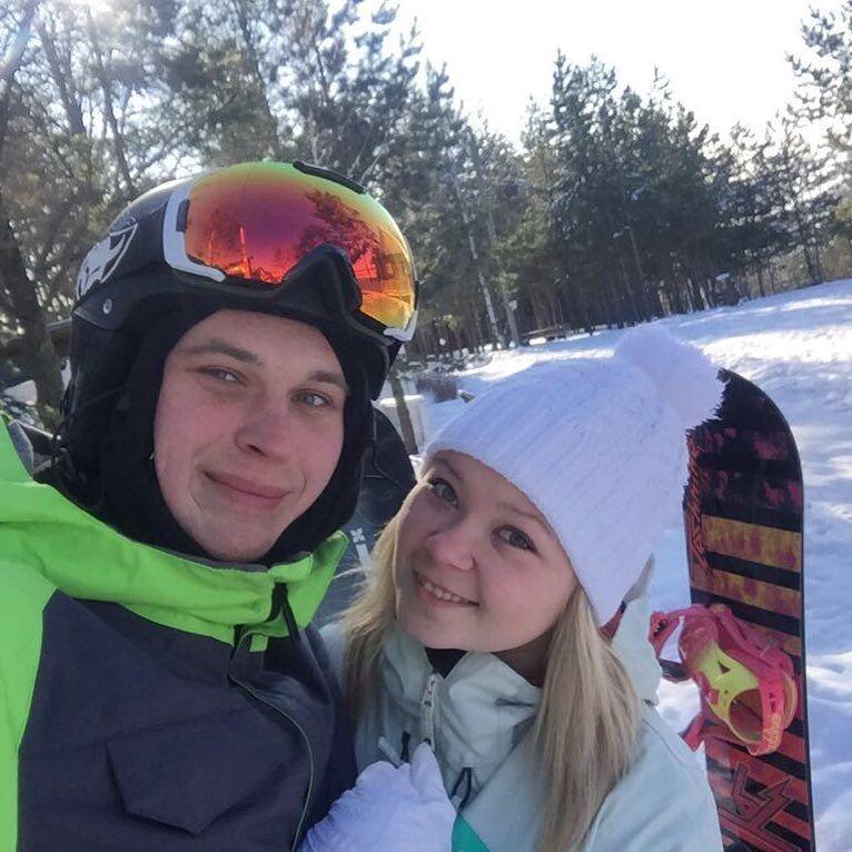 Ігор Субич з дружиною