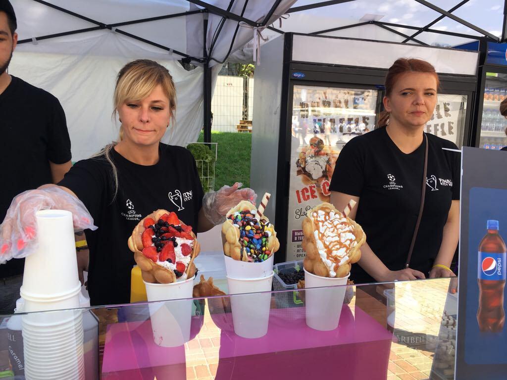 Чай по 55 грн и мороженое по 100: стали известны цены в фан-зоне Киева