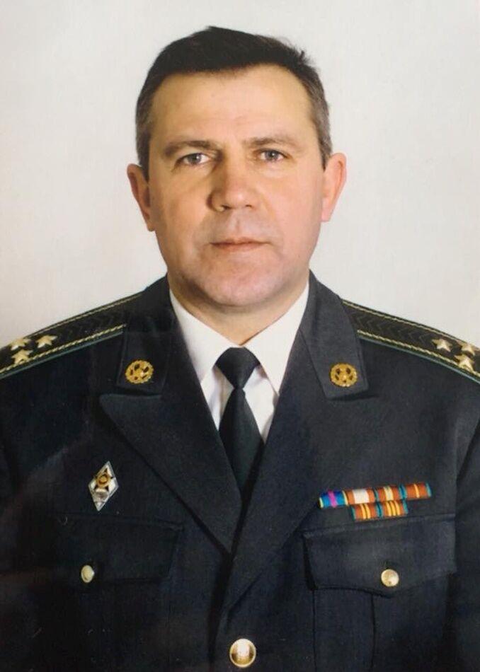 Полковник в отставке Семен Санников