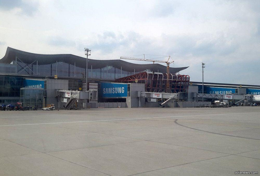 Будівельний майданчик станом на 25 квітня