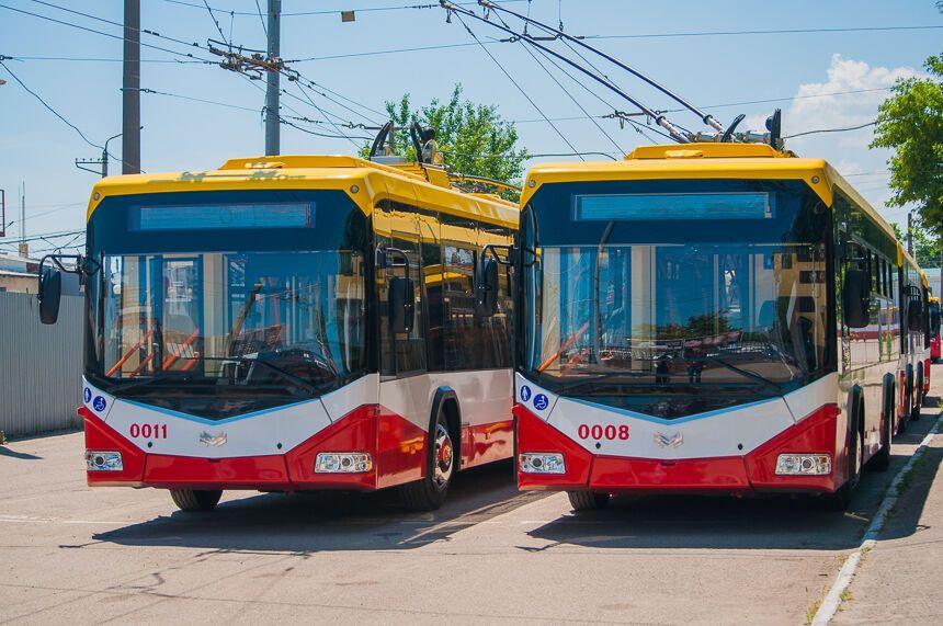В Одесі з'явилися чудо-тролейбуси: опубліковані фото