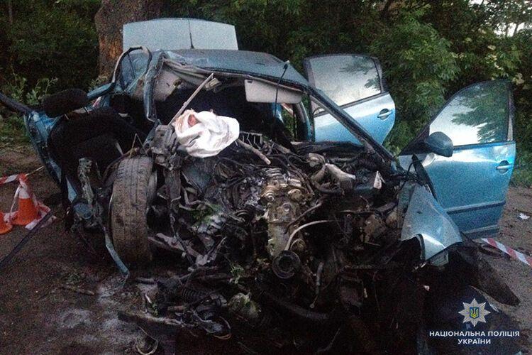 Джип протаранив авто з подружжям: під Рівним сталася смертельна ДТП