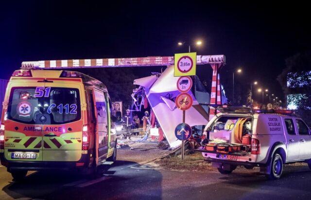 Зрізало півавтобуса: в Угорщині сталася масштабна ДТП з українцями