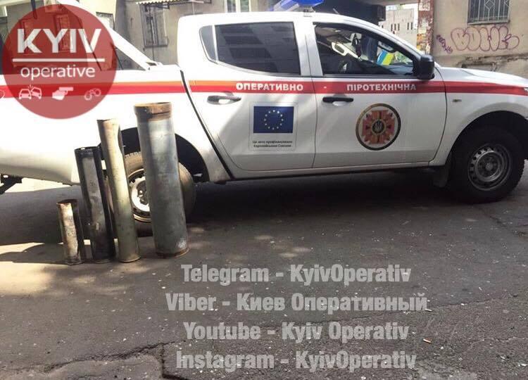 У Києві в житловому будинку виявили арсенал зброї