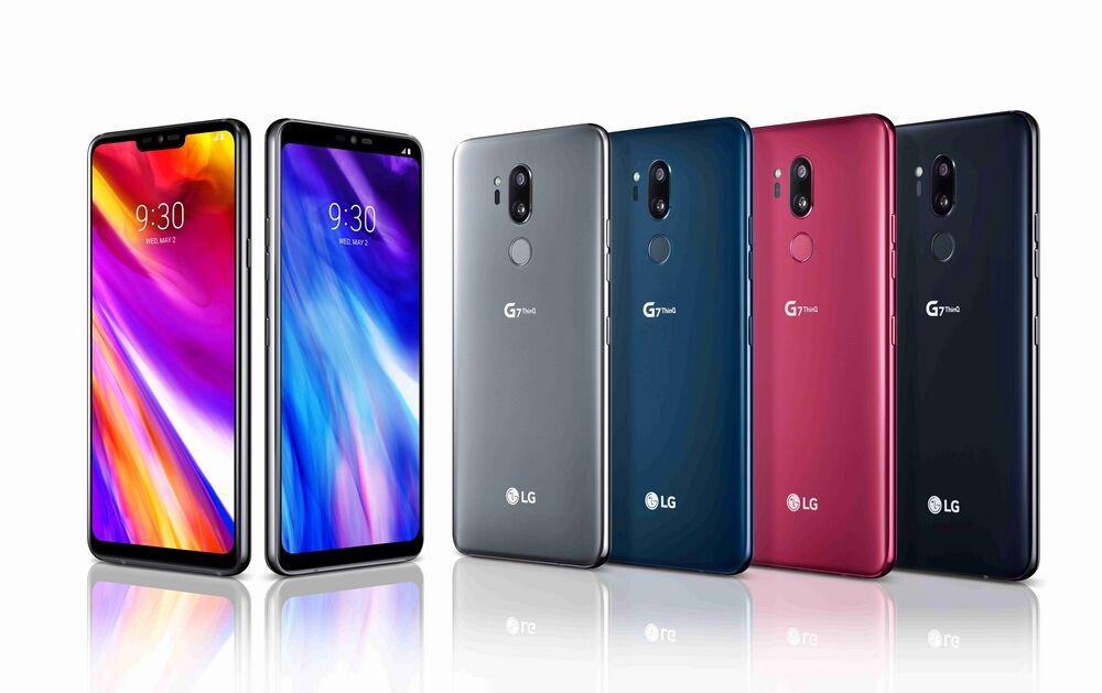LG G7 ThinQ представлен официально
