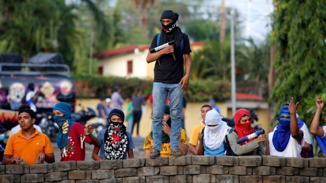 """""""Майдан"""" в Никарагуа: более 70 жертв и баррикады"""