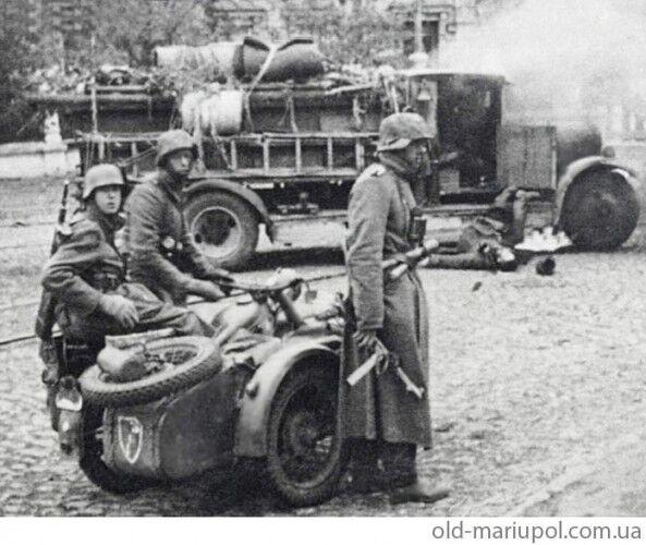 Мариуполь во II мировой войне: архивные фото