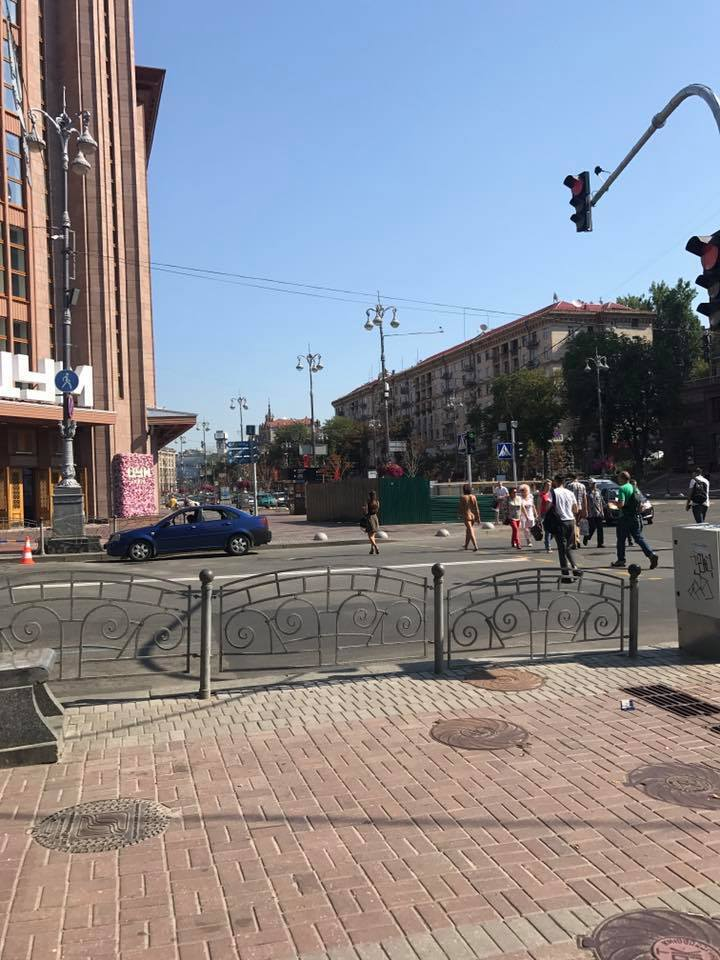 Голые в городе: самые отчаянные чудаки Украины