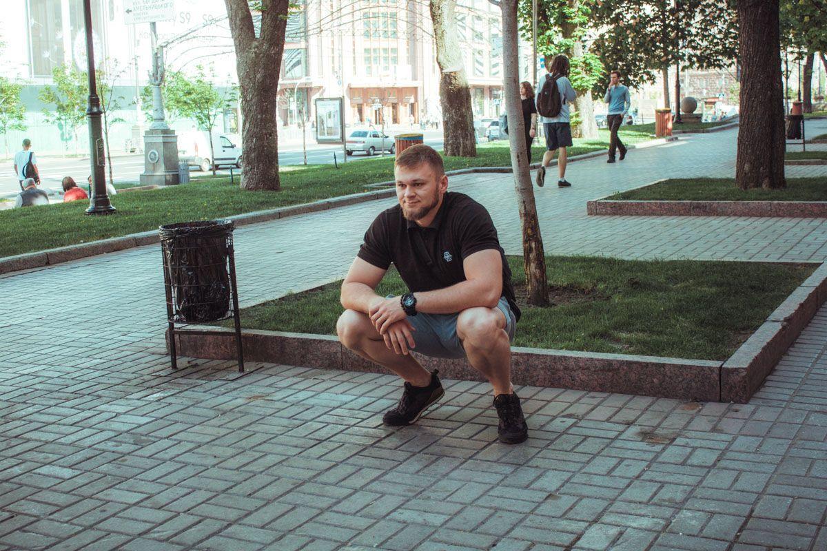 В Киеве главная улица осталась без скамеек
