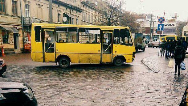 Маршрутка во Львове