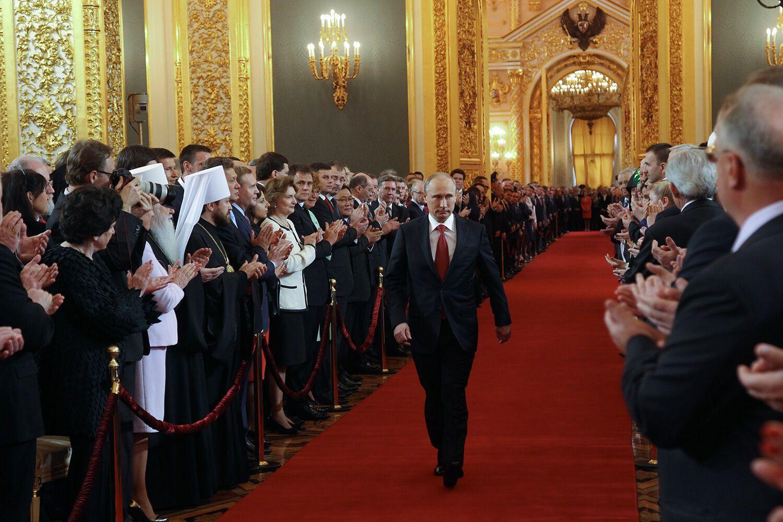 Інавгурація Володимира Путіна, 7 травня 2012 року