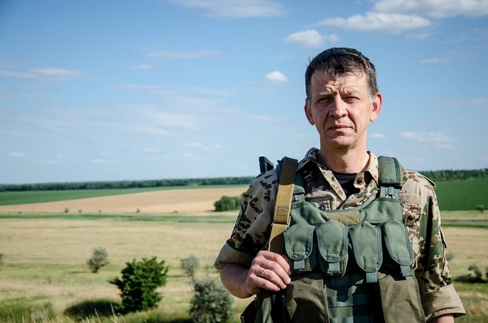 Командир батальона имени Кульчицкого Виктор Толочко