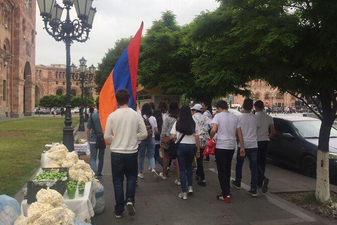Майдан в Армении: люди снова вышли на улицы