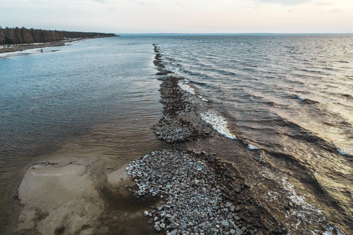 Київське море: вражаючі фото і відео