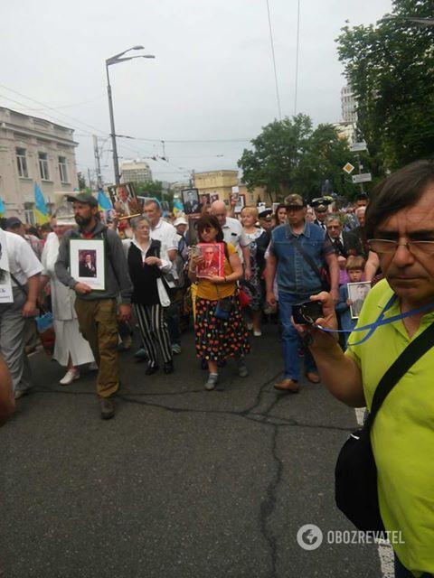 """Акція """"Безсмертний полк"""" в Києві 09.05.2018"""