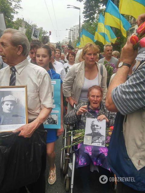 Безсмертний полк в Києві 09.05.2018