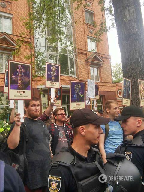 """Пародия на """"Бессмертный полк"""" 09.05.2018"""