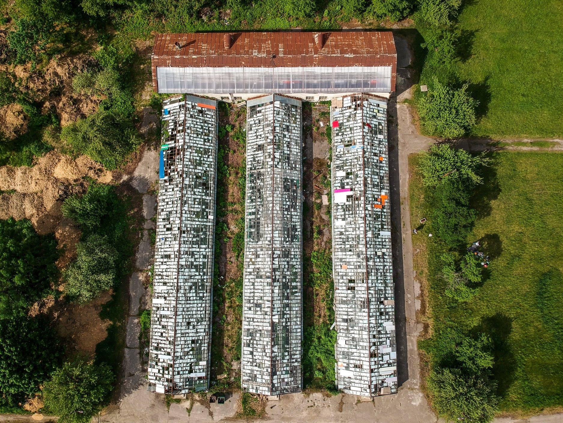 Опубліковані приголомшливі фото Києва з висоти