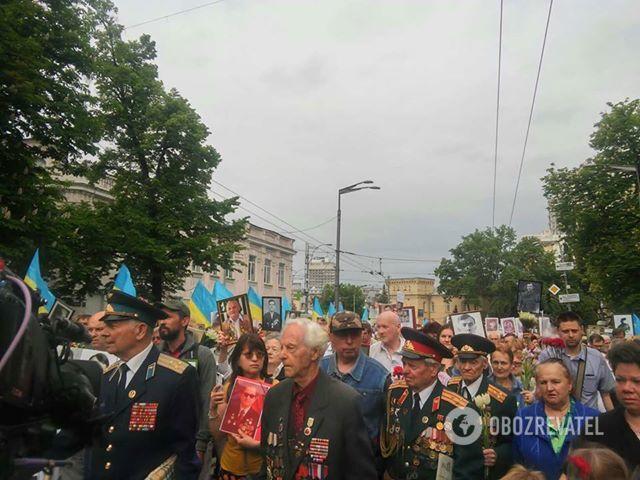 """Акция """"Бессмертный полк"""" в Киеве 09.05.2018"""