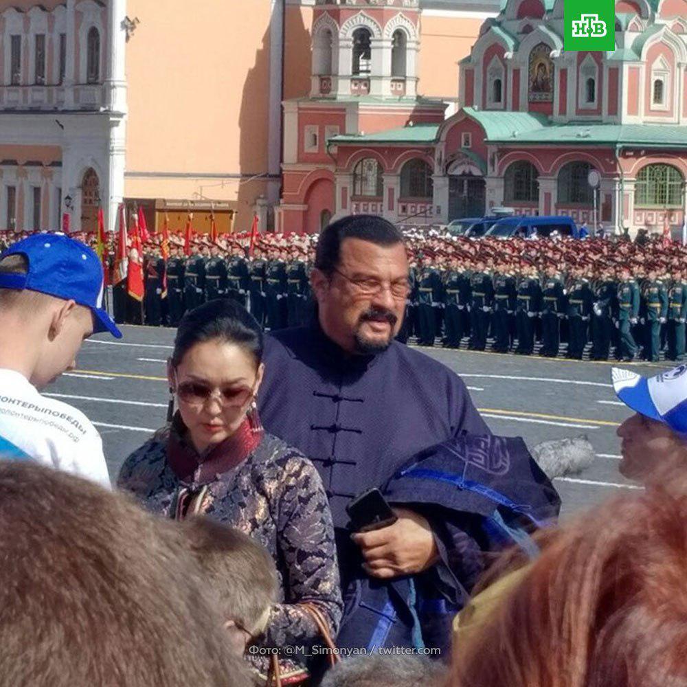 Сигал в Москве