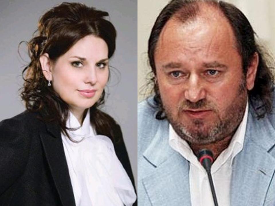 Евгений Сигал с женой