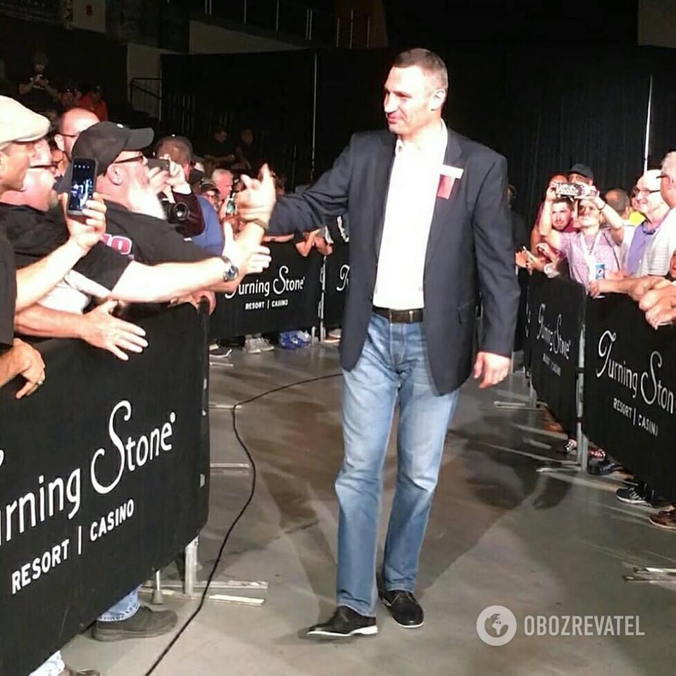 Виталия Кличко приняли в Зал славы бокса: все подробности