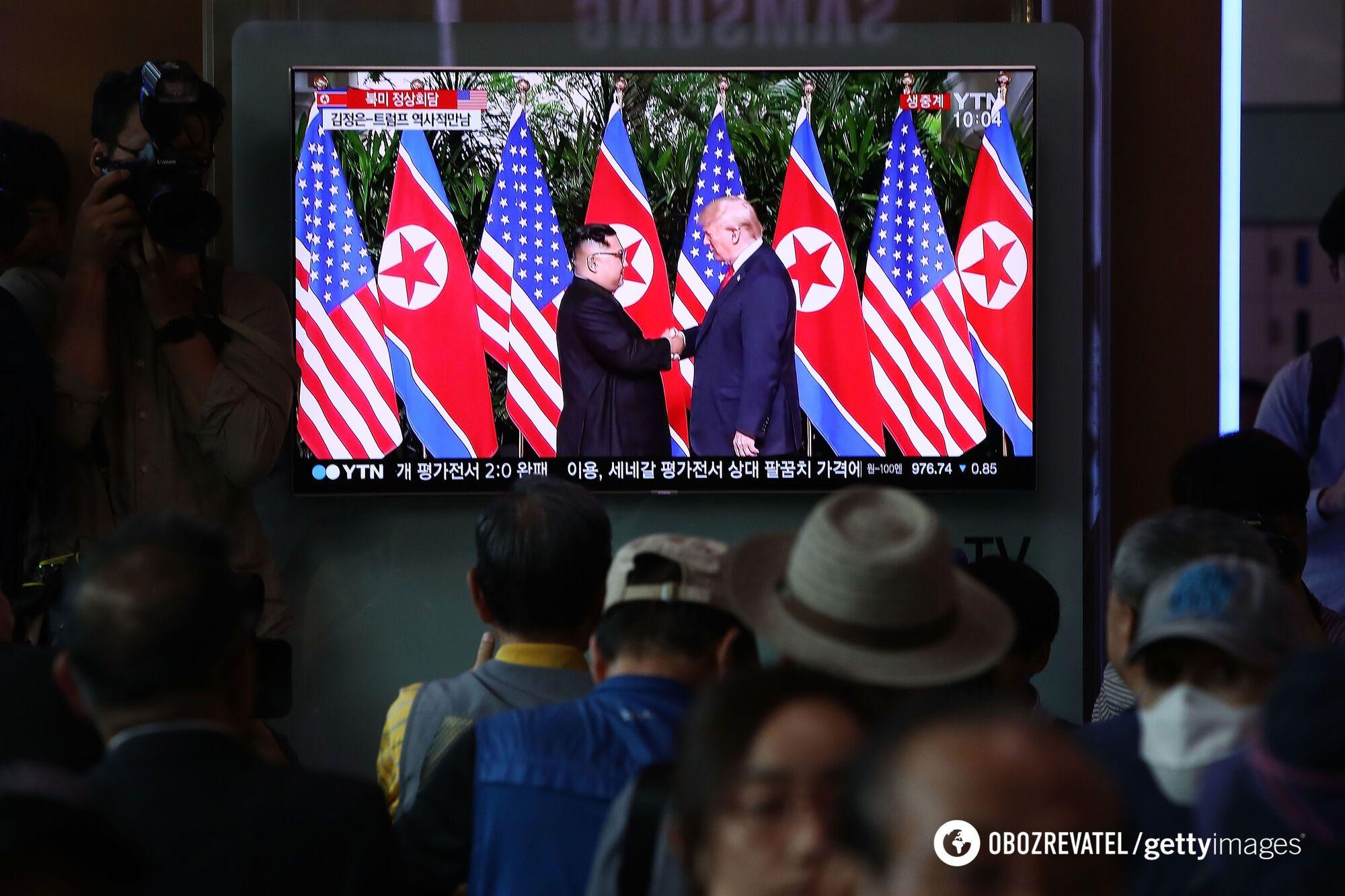 """""""Научная фантастика!"""" Трамп встретился с Ким Чен Ыном"""