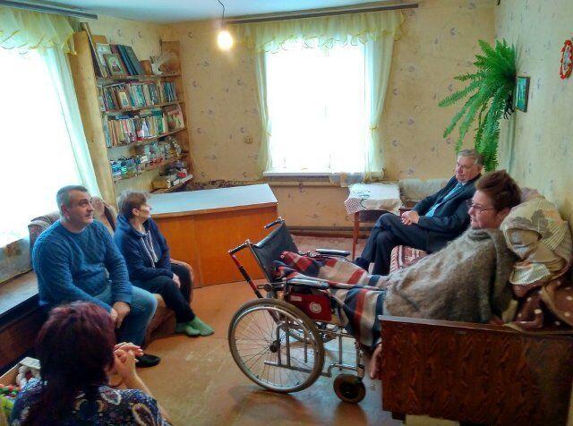 В РФ у інваліда проблеми через біженців Донбасу