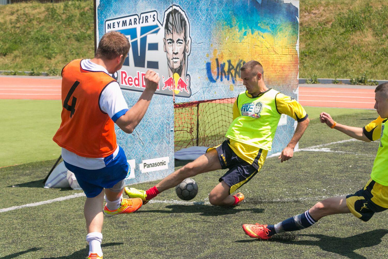 В Киеве состоится Всеукраинский Финал международного турнира по уличному футболу Neymar Jr's Five