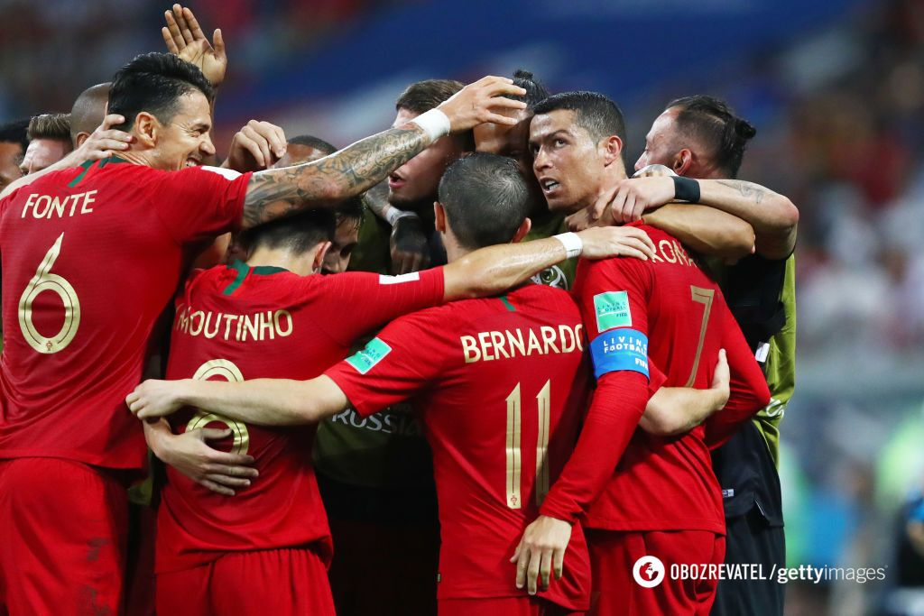 Португалия и Испания забили 6 мячей в суперматче ЧМ-2018