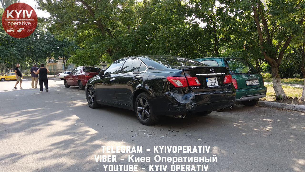 В Киеве нарушителя ПДД настигло жесткое наказание: опубликованы фото