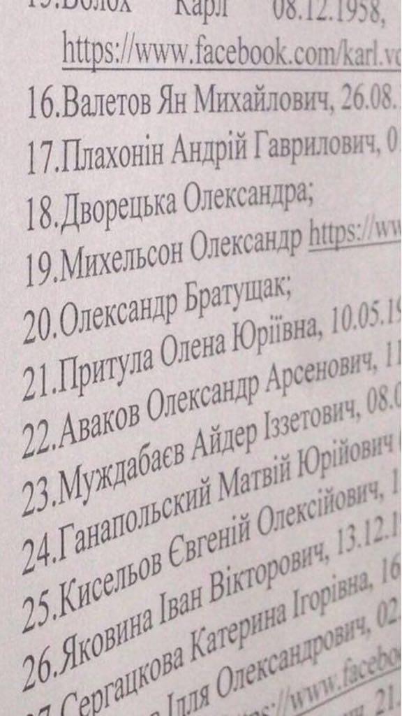 """""""Фігурував син Авакова"""": Герман розповів про """"список 47"""""""