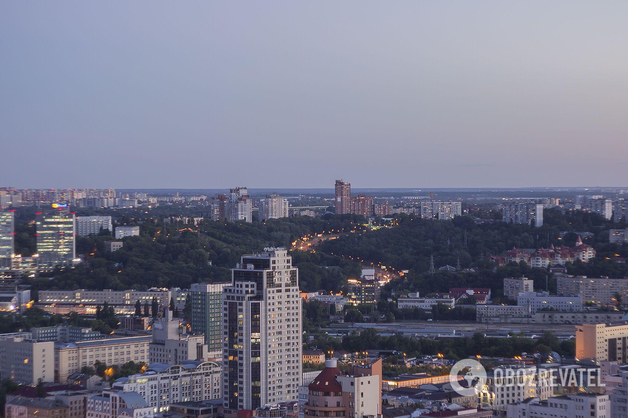 Огни Киева: удивительные фото столицы с высоты
