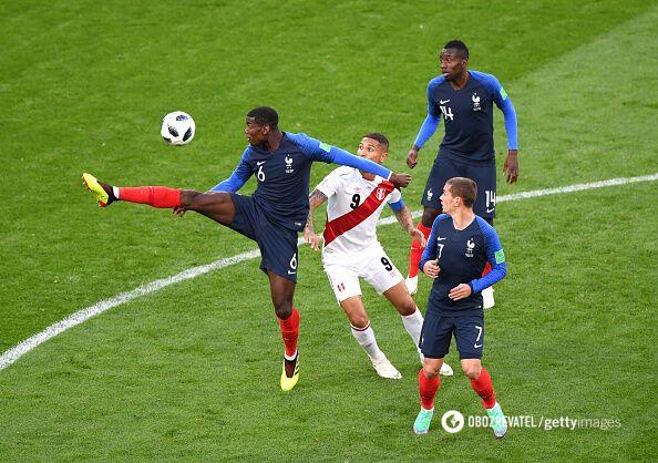 Франция – Перу