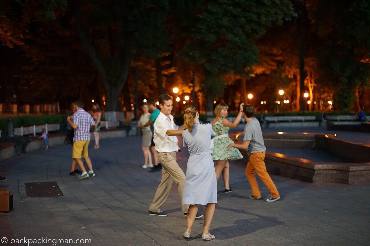 Украина просто застает врасплох - британский путешественник
