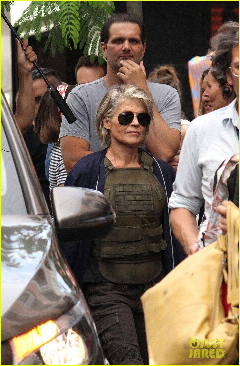"""""""Терминатор 6"""": как выглядит 61-летняя Сара Коннор"""