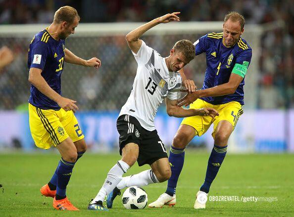 Германия - Швеция