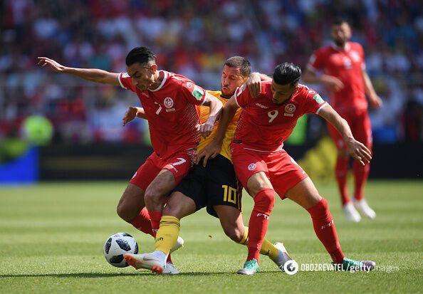Бельгия – Тунис