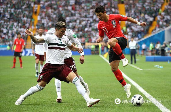 Южная Корея – Мексика