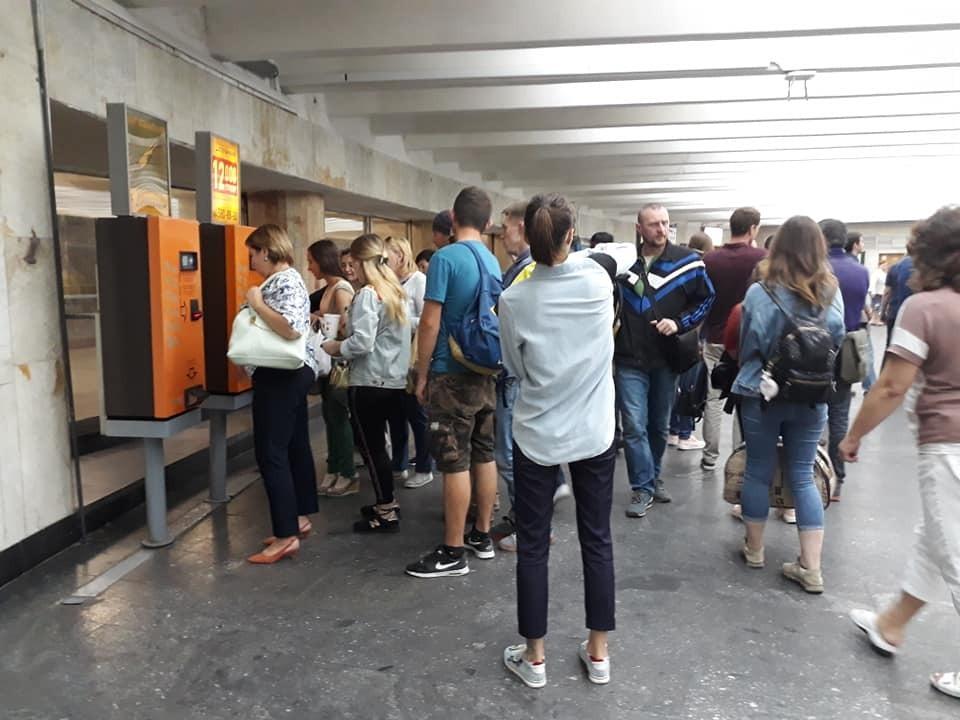 За одним жетоном: в метро Киева назрел коллапс