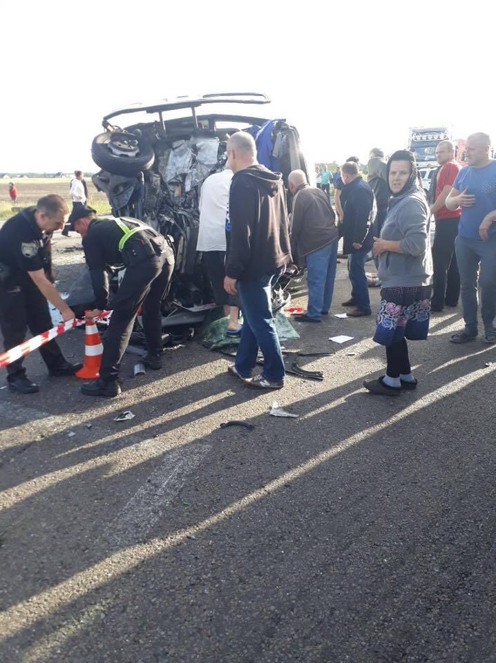 ДТП на Ривненщине: 4 погибших, 9 раненых
