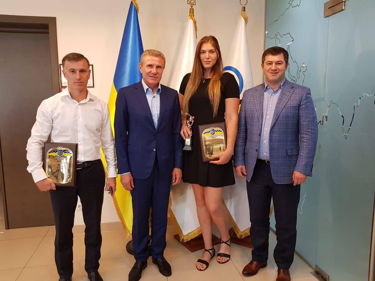 Украинскую дзюдоистку назвали лучшей спортсменкой страны