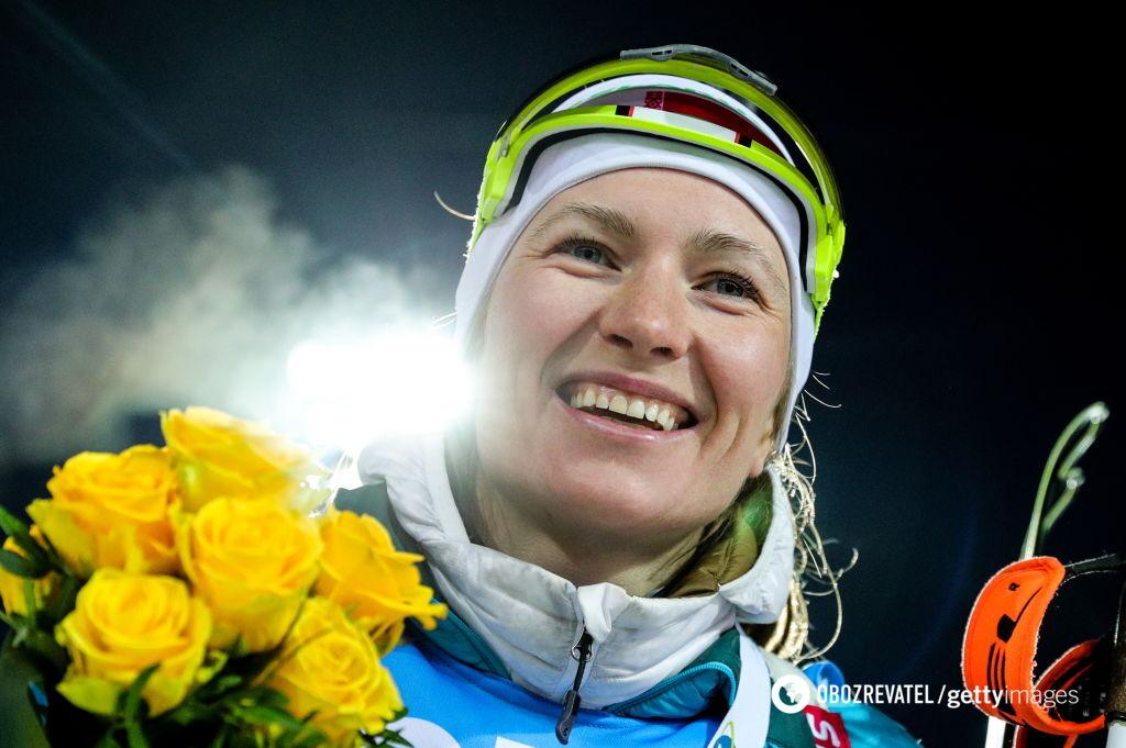 Легендарная биатлонистка объявила о завершении карьеры