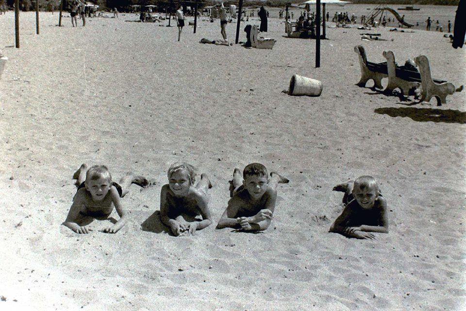 Як виглядав пляж в Запоріжжі 50 років тому: раритетні фото