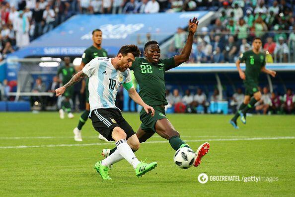 Нигерия - Аргентина