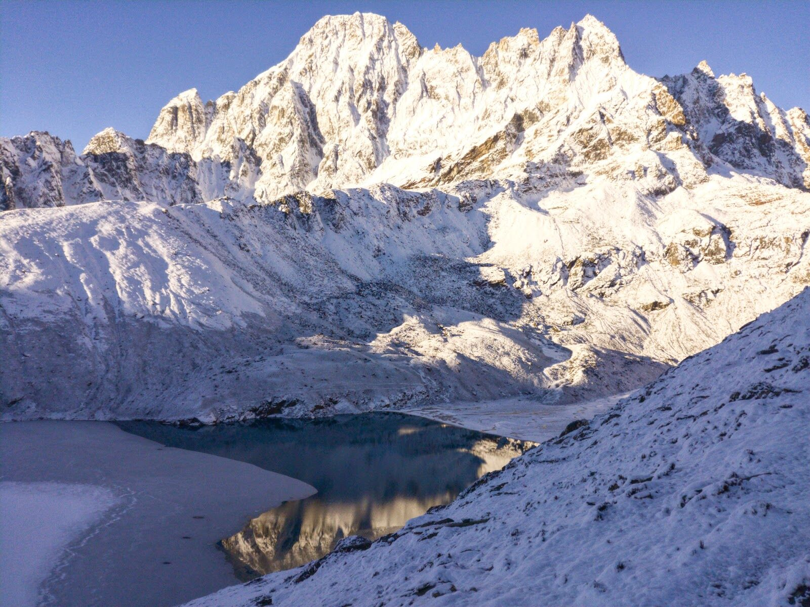Непал, вид с высоты 5 300 м