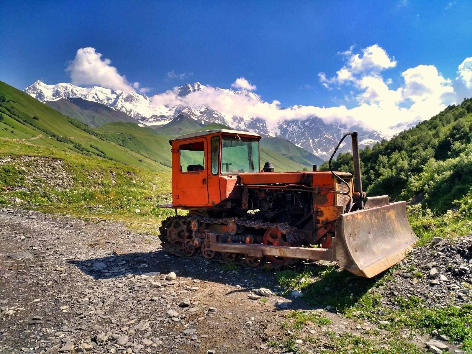 По дороге к ледникам Шхары. Верхняя Сванетия