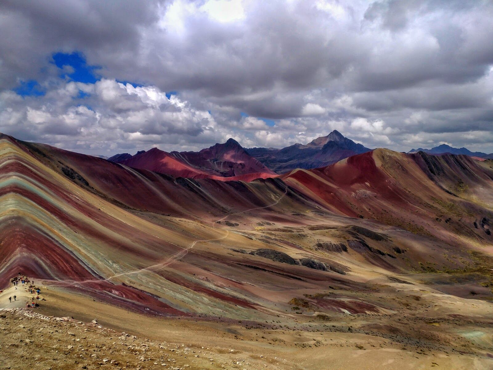 Гора-радуга, Перу. 5 200 м